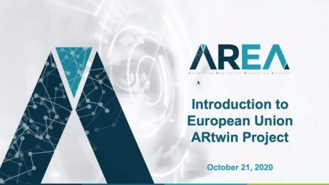 ARtwin presented during the AREA webinar