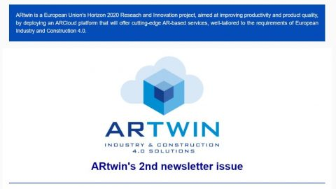 ARtwin 2nd newsletter issue was released